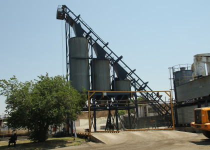 Asphalt Plants Mobile Hot Storage
